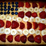 Fourth of July Cake – American Flag