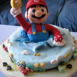 Drool-worthy Mario cake
