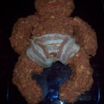 Meat loaf baby with bacon diaper – Don't eat the baby!