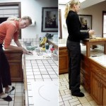 No more crouching in the kitchen – Cutting boards for tall people