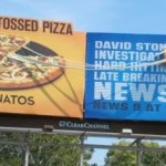 Cheesy pizza billboards – So good you can almost taste it