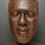 Edible chocolate sculpture – Axe meets Old Spice?