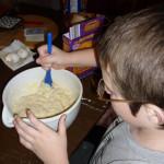 Taste the birthday, take 2 – Birthday cake confetti pancakes