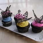 Chocolate butterflies – Spring is here!
