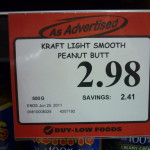 Would you like some light, smooth peanut butt to go with those cottage cheese thighs? >< (Wordless Wednesday)