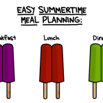 Easy family meals for summertime (Wordless Wednesday)