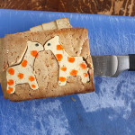 Fancy tofu cut-outs for bento boxes – Aww, kissing giraffes