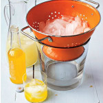 Party tip – Serve ice in a colander & clean your rabbit hutch
