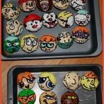 80s cartoon creations – Smurfs, Scooby, Care Bears, Jetsons