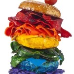 All the colors of the rainbow…in a burger (Wordless Wednesday)
