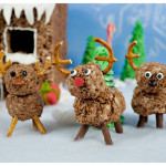 Rudolph the Cocoa Krispy Reindeer…had a very candy nose…