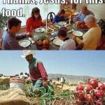 Thank Jesus! (Wordless Wednesday)