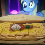 How to make a Derpy sandwich (Wordless Wednesday)