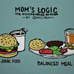 The logic of a mother – Balanced meal > Fast food (Wordless Wednesday)