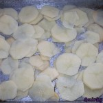 Scalloped potatoes – Bake until burnt
