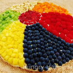 Beach ball dessert pizza