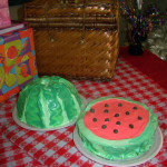 Watermelon Birthday Cake & Party