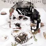 Table transformed into portrait – Extreme food art