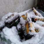 Beer that won't freeze – Pole-axed