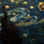 The Spice of Starry Night – Works of art in spice form