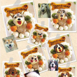 Dog cupcake treats that look like your doggie pal
