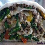 Wilted lettuce, beef bread rolls – Stuffed stir-fry rolls?