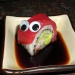 Eyebombing food – Are inedible eyes okay?