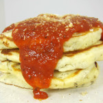 Pizza pancakes – When sweet dishes go savory