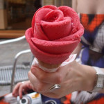 How to make ice cream roses
