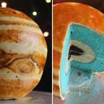 Realistic 3D Jupiter Cake