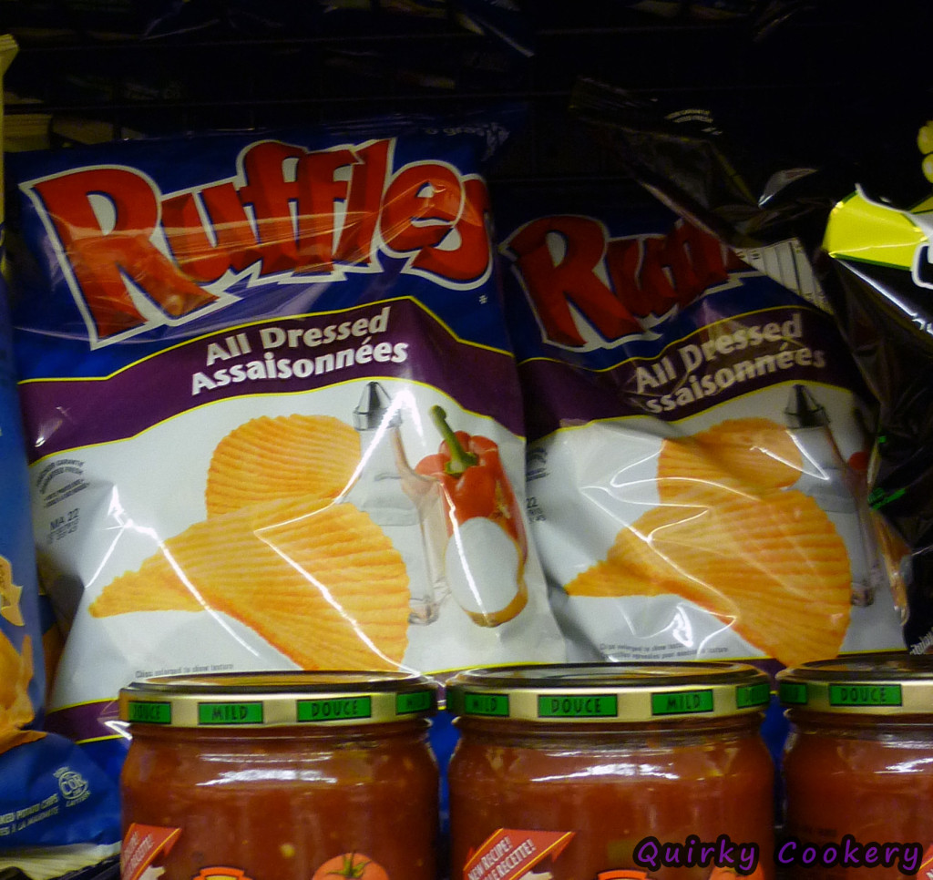 All Dressed chips are frequently sold in Canada and are a unique flavor not like anything found in the US.